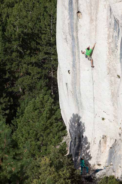 provence climbing guide multi-pitch