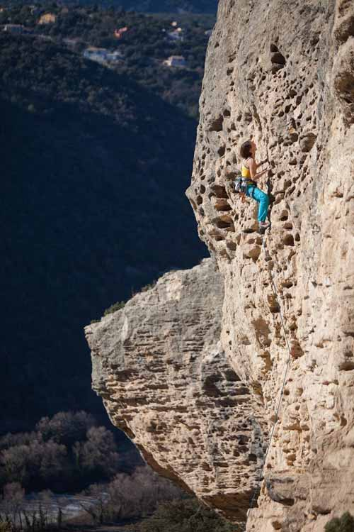 provence climbing guide myriam climbing