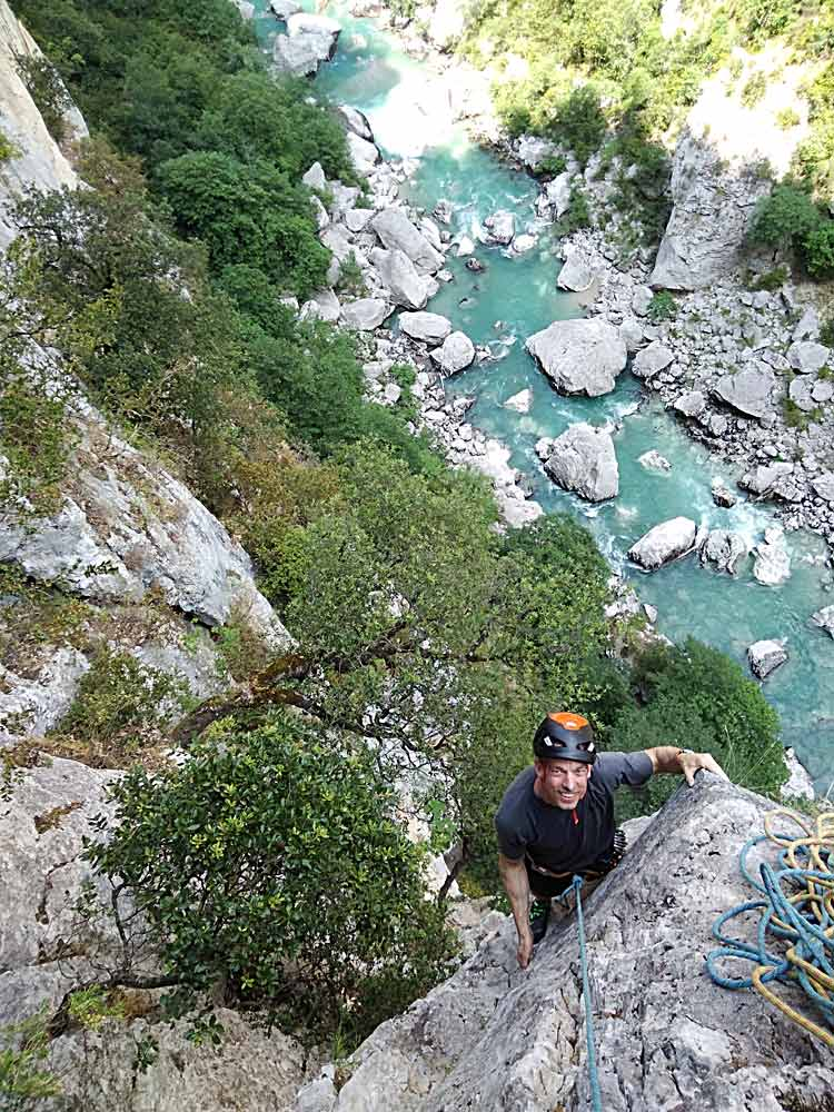 Stages Verdon Simon Montmory Provence Climbing Guide