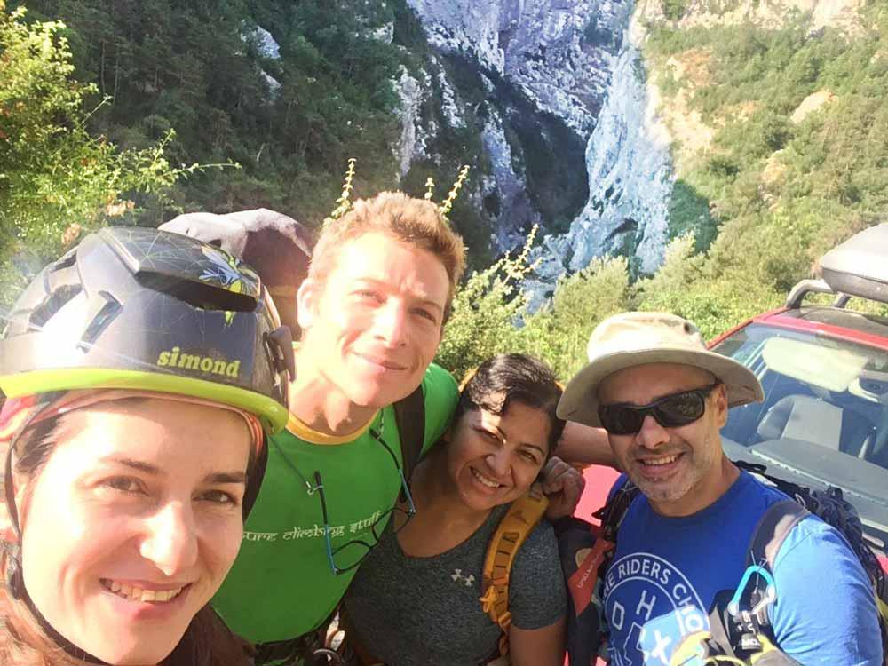 Courses Verdon Simon Montmory Provence Climbing Guide