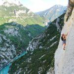 Verdon Climbing guide Simon Montmory