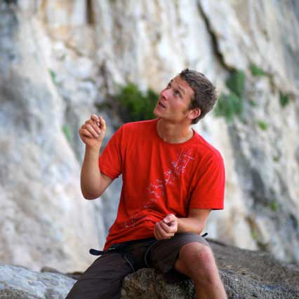 Simon Montmory Coaching Climbing