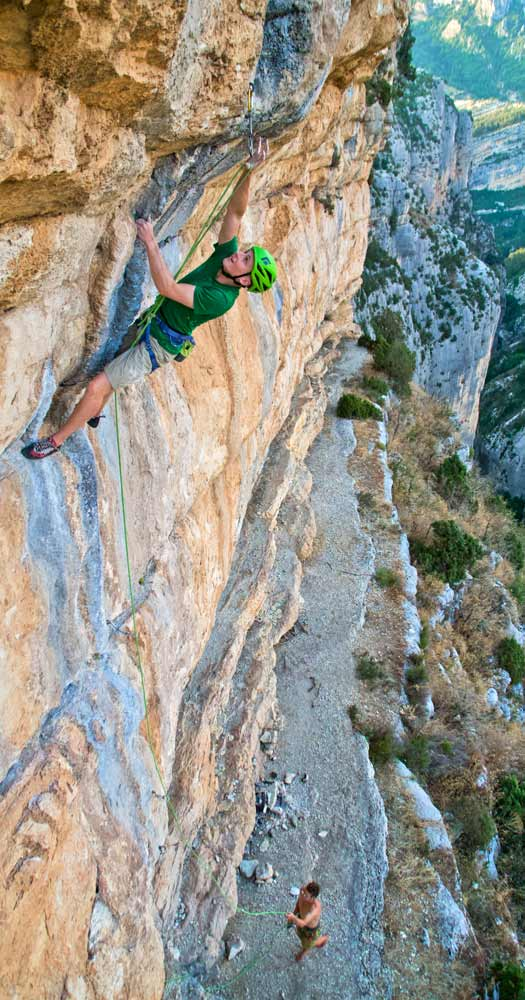 Private coaching climbing Verdon