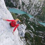 Simon Montmory multi-pitch Verdon